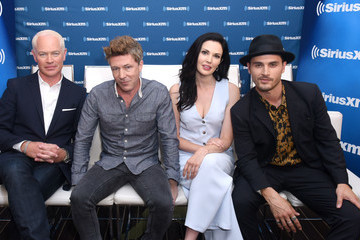 Neal McDonough Laura Mennell SiriusXM's Entertainment Weekly Radio Broadcasts Live From Comic Con in San Diego