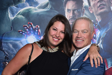 Neal McDonough Ruve Robertson World Premiere of Marvel's 'Avengers: Age Of Ultron' - Red Carpet