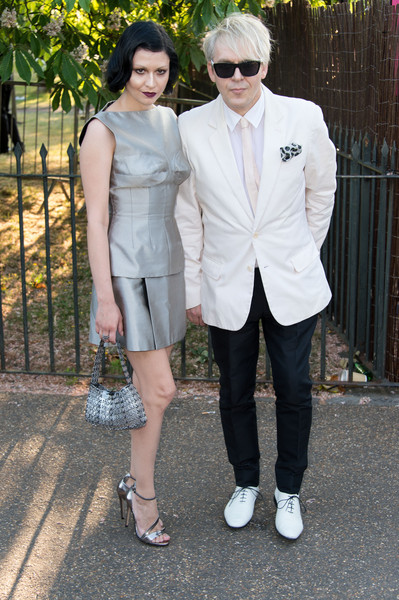The Serpentine Gallery Summer Party [white,photograph,clothing,suit,fashion,snapshot,eyewear,footwear,formal wear,outerwear,nefer suvio,nick rhodes,london,england,the serpentine gallery,serpentine gallery summer party]