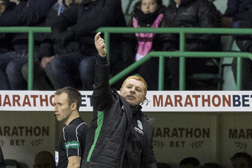 Neil Lennon Hibernian v Kilmarnock - Scottish Premier League