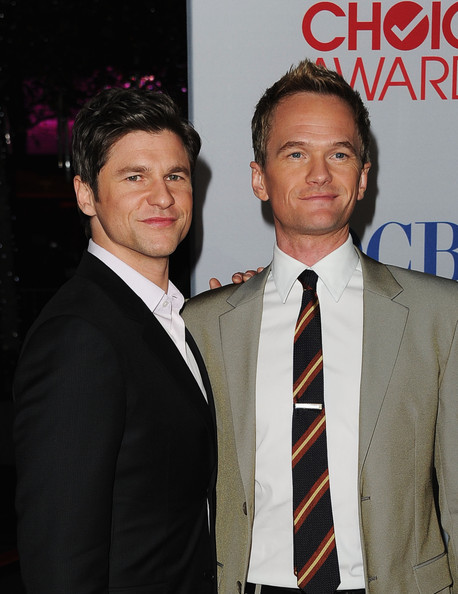 Neil Patrick Harris Actor Neil Patrick Harris (R) and David Burtka arrive at the 2012 People's Choice Awards held at Nokia Theatre L.A. Live on January 11, 2012 in Los Angeles, California.