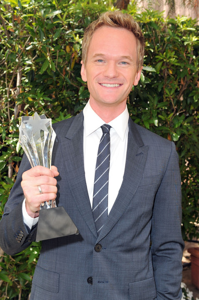 Neil Patrick Harris Actor Neil Patrick Harris, winner of Best Supporting Actor in a Comedy Series, poses with his award at the Critics' Choice Television Awards at Beverly Hills Hotel on June 20, 2011 in Beverly Hills, California.