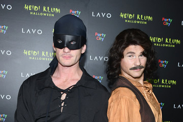 Neil Patrick Harris David Burtka Heidi Klum's 19th Annual Halloween Party Presented By Party City And SVEDKA Vodka At LAVO New York - Arrivals
