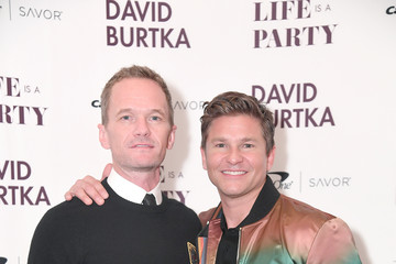 Neil Patrick Harris David Burtka David Burtka Celebrates The Launch Of His New Cookbook 'Life Is A Party'
