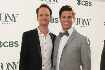 Neil Patrick Harris David Burtka Arrivals at the Tony Honors Cocktail Party