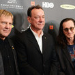 Neil Peart Arrivals at the Rock and Roll Induction Ceremony
