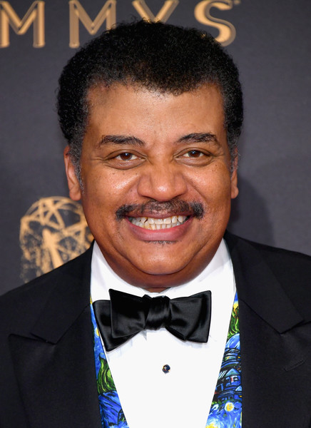 2017 Creative Arts Emmy Awards - Day 1 - Arrivals [person,hairstyle,suit,chin,gentleman,smile,forehead,official,formal wear,tuxedo,arrivals,neil degrasse tyson,california,los angeles,microsoft theater,creative arts emmy awards]