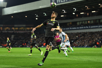 Nemanja Matic West Bromwich Albion v Chelsea - Premier League