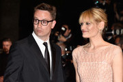 """Director Nicolas Winding Refn (L) and Liv Corixen (R) attend """"The Neon Demon"""" Premiere during the 69th annual Cannes Film Festival at the Palais des Festivals on May 20, 2016 in Cannes, France."""