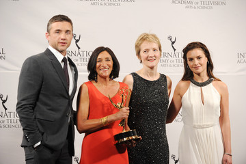 Jeff Hephner Nespresso Press Room At The 39th International Emmy Awards