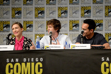 Nestor Carbonell 'Bates Motel' on A&E - Comic Con Panel 2016