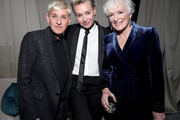 (L-R) Ellen DeGeneres, Portia de Rossi and Glenn Close attend the Netflix 2020 Golden Globes After Party at The Beverly Hilton Hotel on January 05, 2020 in Beverly Hills, California.