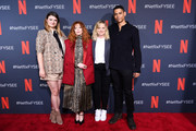"""Leslye Headland, Natasha Lyonne, Amy Poehler and Charlie Barnett attend Netflix's FYSEE event for """"Russian Doll"""" at Netflix FYSEE At Raleigh Studios on June 09, 2019 in Los Angeles, California."""