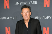 "Bruce Springsteen arrives at Netflix FYSEE Opening Night ""Springsteen On Broadway"" at Raleigh Studios on May 05, 2019 in Los Angeles, California."