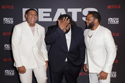 """Khalil Everage, Chris Robinson and Anthony Anderson attend the """"BEATS"""" World Premiere at The American Black Film Festival on June 13, 2019 in Miami, Florida."""