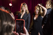 In this handout photo provided by Netflix,  Lori Loughlin and Candace Cameron-Bure attend the Netflix Golden Globes after party at Waldorf Astoria Beverly Hills on January 7, 2018 in Beverly Hills, California.