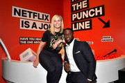 Chelsea Handler and Kevin Hart attend the 'Netflix Is A Joke' screening at Raleigh Studios on May 11, 2019 in Los Angeles, California.