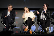 "Holt McCallany, Anna Torv, Cameron Britton attends Netflix's ""Mindhunter"" FYC Event at Netflix FYSEE At Raleigh Studios on June 1, 2018 in Los Angeles, California."