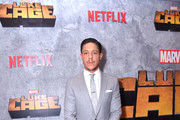 Theo Rossi attends the Netflix Original Series Marvel's Luke Cage Season 2 New York City Premiere on June 21, 2018 in New York City.