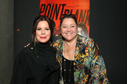 Marcia Gay Harden and Camryn Manheim attend a special screening of Netflix's 'Point Blank' at NETFLIX on July 11, 2019 in Los Angeles, California.