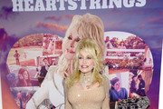 """Dolly Parton attends the Netflix Premiere of Dolly Parton's """"Heartstrings"""" on October 29, 2019 in Pigeon Forge, Tennessee."""