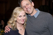 "Amy Poehler and Seth Meyers attend the Netflix Premiere of ""Wine Country"" on May 08, 2019 in New York City."