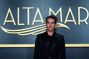 "Model and actor Jon Kortajarena poses on the red carpet during ""Alta Mar"" Netflix Special Screening at Paz Cinema on May 23, 2019 in Madrid, Spain."