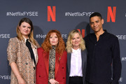 """Leslye Headland, Natasha Lyonne, Amy Poehler and Charlie Barnett attend the Netflix """"Russian Doll"""" FYSEE Event at Raleigh Studios on June 09, 2019 in Los Angeles, California."""