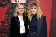 """Amy Poehler and Natasha Lyonne attend Netflix's """"Russian Doll"""" Season 1 Premiere at Metrograph on January 23, 2019 in New York City."""