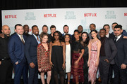 Cast & crew attend Netflix's 'Seven Seconds' Premiere screening and post-reception in Beverly Hills, CA on February 23, 2018 in Beverly Hills, California.