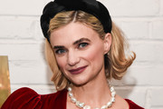 """Megan Ferguson attends the New York screening of Netflix's musical drama series """"Soundtrack"""" at Metrograph on December 02, 2019 in New York City."""
