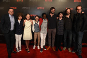 David Harbour and Noah Schnapp Photos Photo