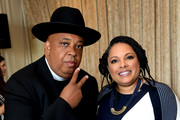 Rev Run and Justine Simmons attend  Netflix TCA 2018 at The Beverly Hilton Hotel on July 29, 2018 in Beverly Hills, California.