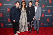 """(L-R) Berry Welsh, Ava DuVernay, Jane Rosenthal and Jonathan King attend Netflix's FYSEE event for """"When They See Us"""" at Netflix FYSEE at Raleigh Studios on June 09, 2019 in Los Angeles, California."""
