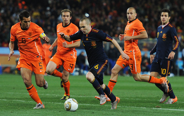 Spain v Netherlands FIFA World Cup