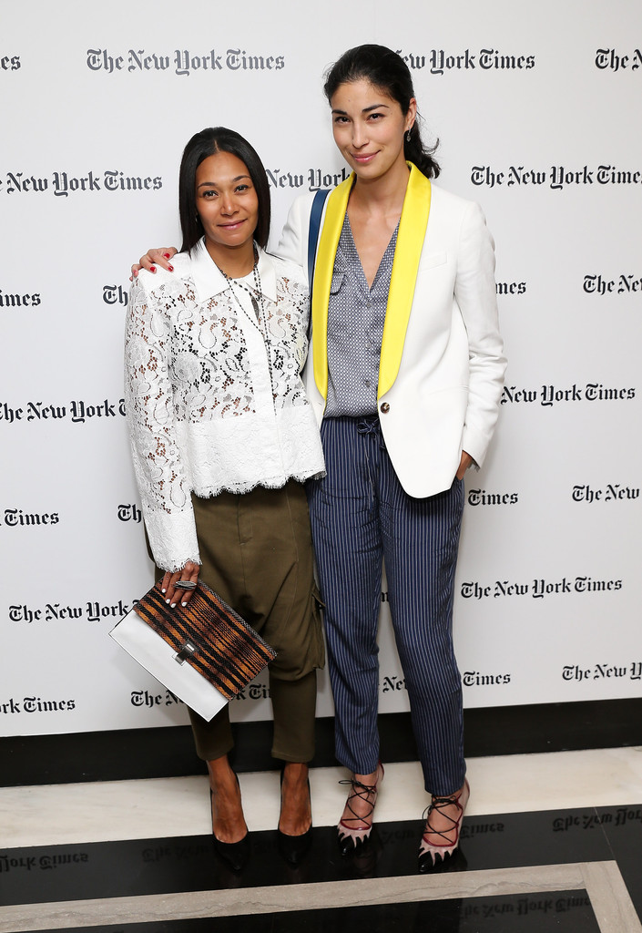Caroline Issa Photos Photos New York Times Welcome Party Zimbio