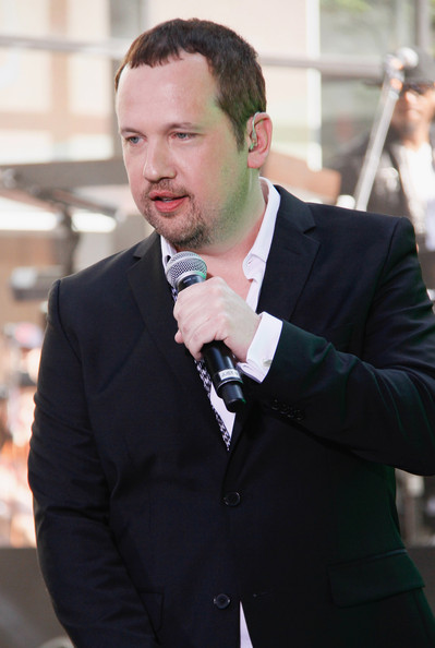Justin Jeffre of 98 Degrees performs on'The Today Show' on May 31, 2013 in New York, New York.