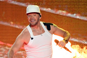 Singer Donnie Wahlberg of New Kids on the Block performs during a stop of the Mixtape Tour at the Mandalay Bay Events Center on May 25, 2019 in Las Vegas, Nevada.