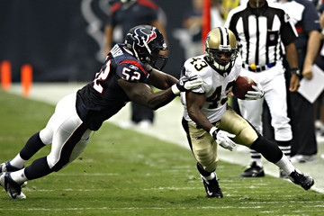 Xavier Adibi New Orleans Saints v Houston Texans