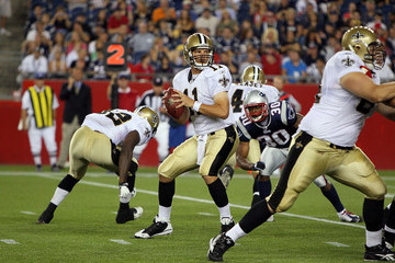 Patrick Ramsey New Orleans Saints v New England Patriots