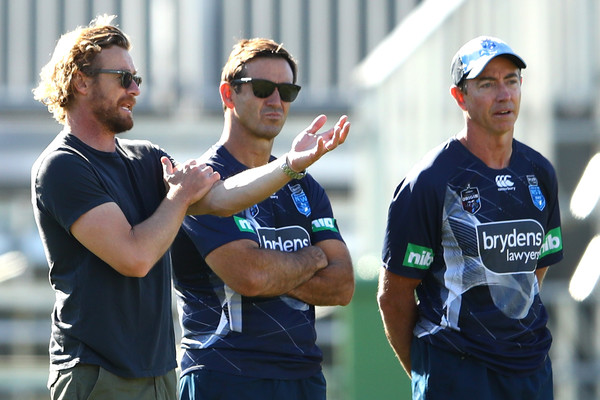 New South Wales Blues Training And Media Session