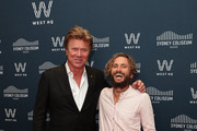 John Butler and Richard Wilkins attend the official opening of the Sydney Coliseum Theatre on December 21, 2019 in Sydney, Australia.