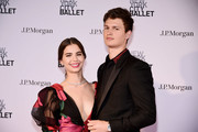 Ansel Elgort Violetta Komyshan Photos Photo