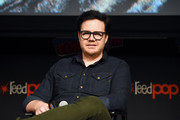 Josh McDermitt speaks onstage during The Walking Dead Universe, Including AMC's Flagship Series and the Untitled New Third Series Within The Walking Dead Franchise at New York Comic Con 2019 Day 3 at Hulu Theater at Madison Square Garden October 05, 2019 in New York City.