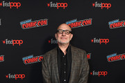 Akiva Goldsman poses for a photo during New York Comic Con 2019 Day 3 at the Hulu Theater at Madison Square Garden on October 05, 2019 in New York City.