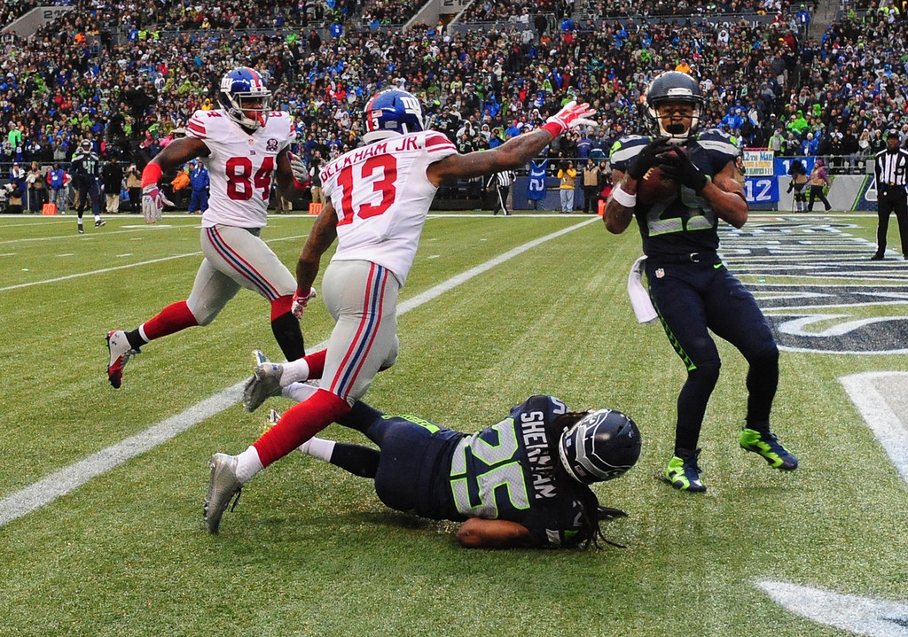 Earl Thomas And Odell Beckham Jr Photos