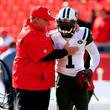 Michael Vick and Andy Reid Photos