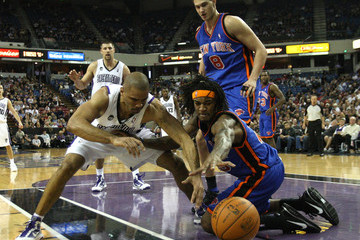 Ime Udoka New York Knicks v Sacramento Kings