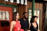 """(L-R back row) Sandra Bullock, Trevante Rhodes, Executive Producer Susanne Bier, (front row) Vivien Blair and Julian Edwards attend the New York Special Screening Of The Netflix Film """"BIRD BOX"""" at Alice Tully Hall on December 17, 2018 in New York City."""