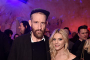 """Johan Renck and Katheryn Winnick attend the New York special screening of the Netflix film """"POLAR"""" at The Roxy Cinema on January 14, 2019 in New York City."""